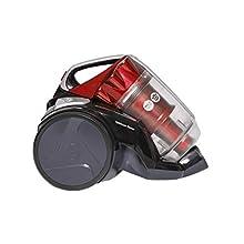 Hoover Optimum Power Bagless Pets Cylinder Vacuum Cleaner, KS51OP2, Easy Empty, Powerful - Black/Red