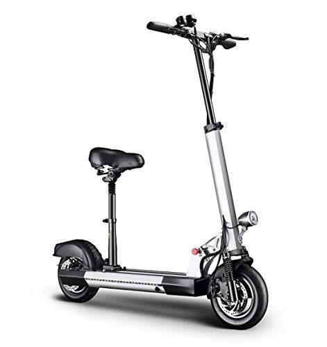 Creing Elektrischer Roller E-Scooter Faltbarer Power Scooter Mit Sitz Elektroroller StraßEnzulassung Cityroller 30-115km FüR Jugendliche Und Erwachsene