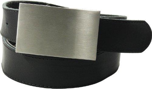 Harrys-Collection Tresorgürtel mit Kartenfach + Reißverschluß, Farben:schwarz, Bundweite:95 (Gürtel Reißverschluss)