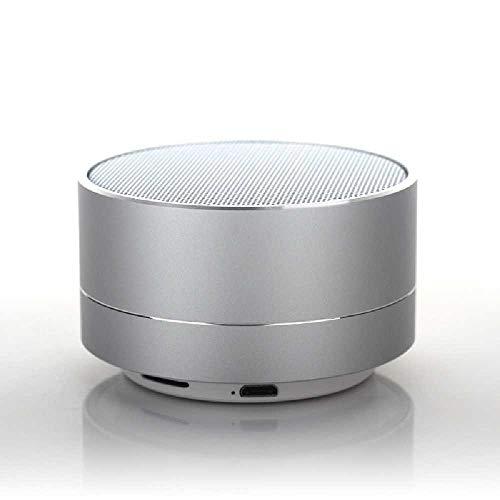 YUNYUE Die a10 mit der Lampe drahtlose Bluetooth - Lautsprecher - Aluminium - Legierung MIT Mini - subwoofer Bluetooth - Lautsprecher. Silber