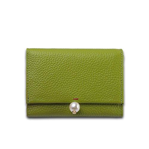 Faysting EU donna portafoglio donna borsellino multi colori clamshell perla stile buon regalo F