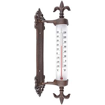 Außenthermometer als Forke Thermometer im Landhausstil Temperaturmesser