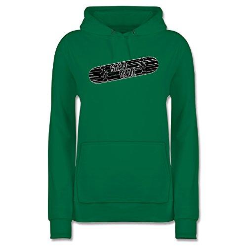 sonstige-sportarten-skate-or-die-xxl-grun-jh001f-damen-premium-kapuzenpullover-hoodie