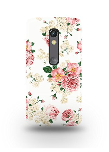 Moto X Play Cover,Moto X Play Case,Moto X Play Back Cover,Vintage Floral Pattern Moto X Play Mobile Cover By The Shopmetro-12382
