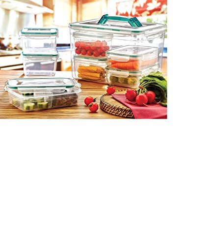 hygienic-bpa-free-plastic-fresh-combi-box-set-lunch-box-picnic-camping-box-6-pcs-clear-gree