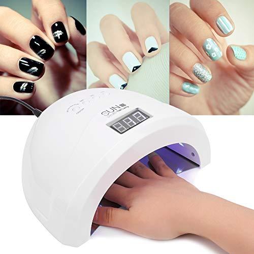 Lámpara UV, ideal uñas secas, secadores uñas, 48