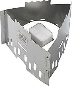Esbit Réchaud à combustible solide Inox
