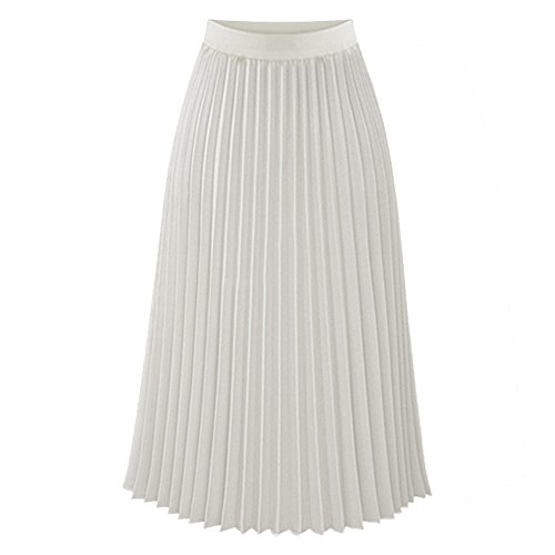 Used, TEERFU Womens Ladies Summer Boho Pleated Skirt A-line for sale  Delivered anywhere in UK