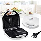 SLB Works Brand New Non Stick Electric Sandwich Toaster Toasties Panini Maker Grill Machine Cooker