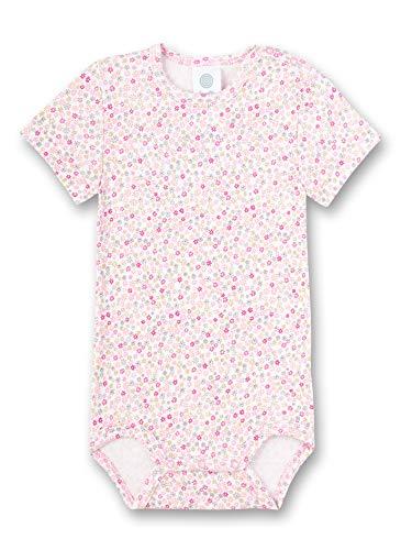 Sanetta Baby-Mädchen Halbarmbody Spieler, rosa 3813, 92 (Herstellergröße:092)