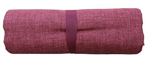 Ba grandfoulard-telo copritutto-copridivano- copriletto-tendaggio mod. tinta unita 240x260 cm colore rosso