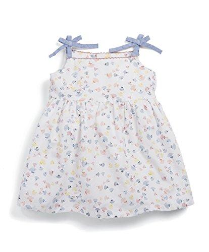 Mamas & Papas Baby-Mädchen Strappy Print Dress Kleid, Gelb (Lemon S16NDY3), 3-6 Monate Strappy 4