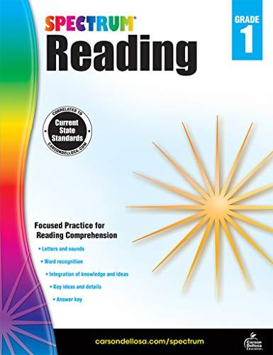 Spectrum Reading Workbook, Grade 1