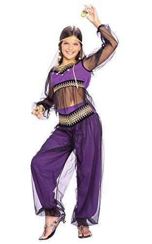 Rubies 2882934 - Kostüm für Kinder - Harem Princess, M (Arabische Prinzessin Kostüm Amazon)