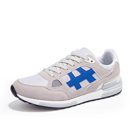 Hommes Grande taille Chaussures de sport Respirant Mode Entraînement Chaussures de course gray