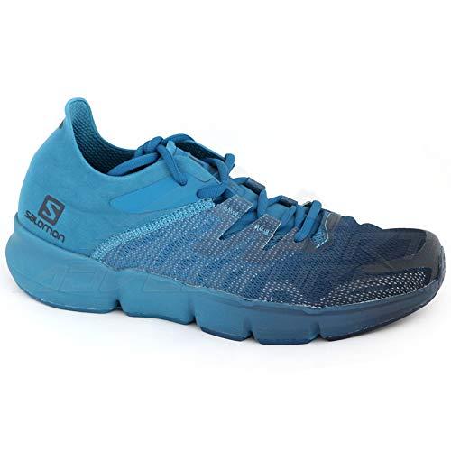 SALOMON Predict RA Men's Road Running Shoes Size UK 8.5, Navy Blazer/Lyons Blue/Poseidon - Azul, 42 2/3