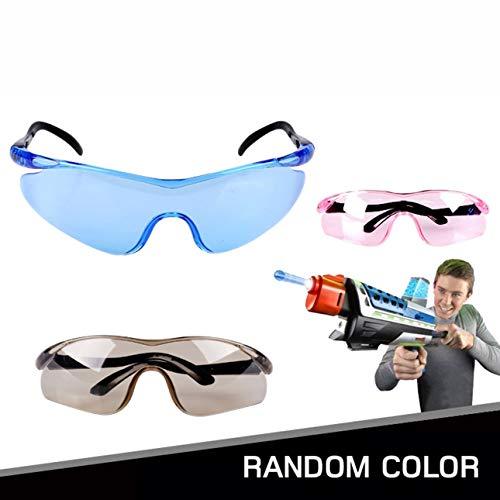 Ballylelly-Leichte Kunststoff Toy Gun Brille für Nerf Gun Zubehör Schützen Sie Augen Unisex Outdoor Kinder Kinder Classic Geschenke
