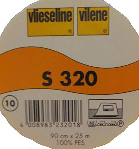 2 m feste Schabrackeneinlage weiß S 320 von Freudenberg 90 cm breit