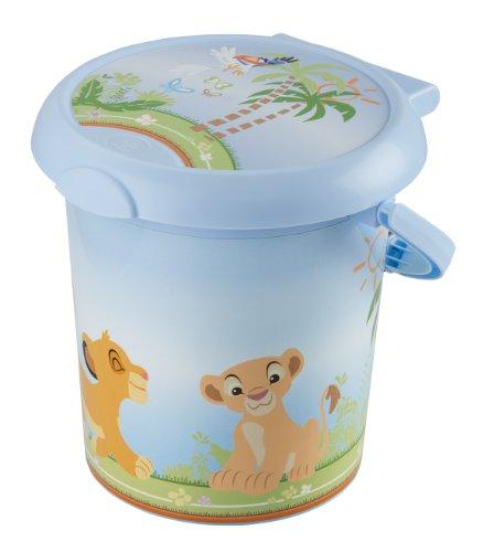 Preisvergleich Produktbild Rotho Babydesign 20215 0196 AK Style Windeleimer Koenig der Loewen