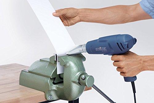 Steinel Breitstrahldüse 75 mm, Zubehör für Steinel Heißluft-Pistole, zum Trocknen und Entfernen von Farben und Folien