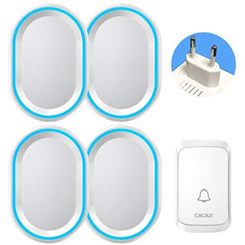 HoZony Tragbare wasserdichte Home Office Türklingel Digitale Schaltung Design Elektronische Türklingel Schnurlose Türklingel - 1