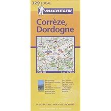 Carte routière : Corrèze - Dordogne, N° 11329