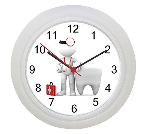 Reloj de pared para dentista