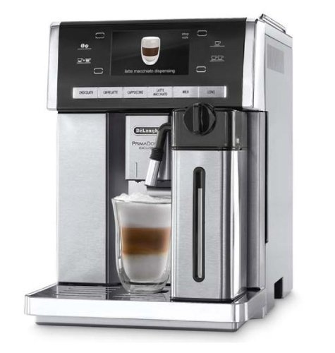 DeLonghi ESAM 6900 Machine à café automatique PrimaDonna 15 bar argent