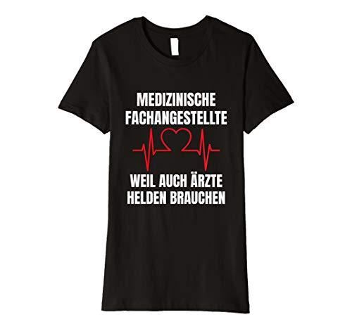 Damen MFA T-Shirt I Medizinische Fachangestellte Geschenk lu (Arzt Mädchen T-shirt)
