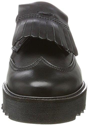 Marc OPolo Lace Up Shoe 70814243402125, Mocassini Donna nero (nero)