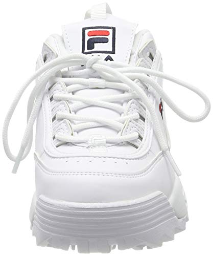 Fila Disruptor Low Wmn, Scarpe da Ginnastica Basse Donna, Bianco (White 1fg), 39 EU