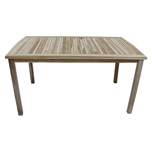 OUTLIV. Gartentisch Ontario Gartentisch 150x90cm ECO-Teak Tisch Garten