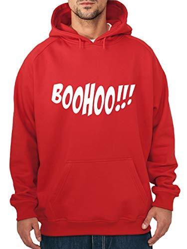 zenpullover Halloween Boohoo Rot/Weiß Größe M ()