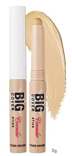 Etude House - Big Cover - Concealer Stick - Abdeckstift Sand - Make Up Stift zum Abdecken