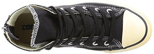 High Vint Unisex Ct Zp top Converse Schwarz Sneaker noir erwachsene Twil wYxq7I65