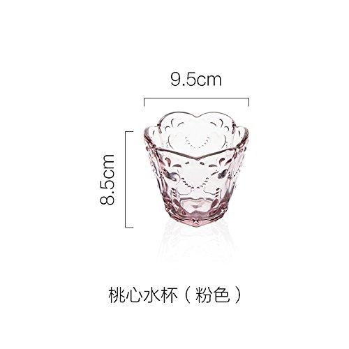Creative Glas Bowl Of Fruit Snack Bowl von Eis Schalen rose