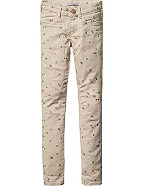 Scotch & Soda R'Belle Mädchen Hose 5-Pocket Pants with Special Print