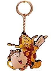 Primark~Beauty & The beast Keyring~Key chain bag charm
