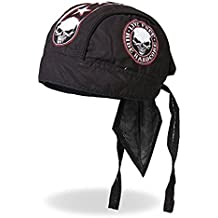 Authentic Bikers Premium Headwraps- High Quality Micro-Fiber & Mesh Lining HEADWRAP