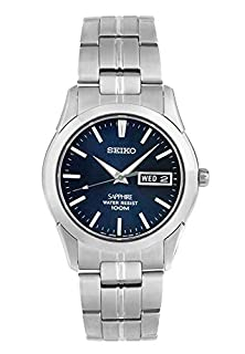 Seiko Men's Analogue Quartz Watch with Stainless Steel Bracelet - SGG717P1 (B002W7U7B6) | Amazon Products