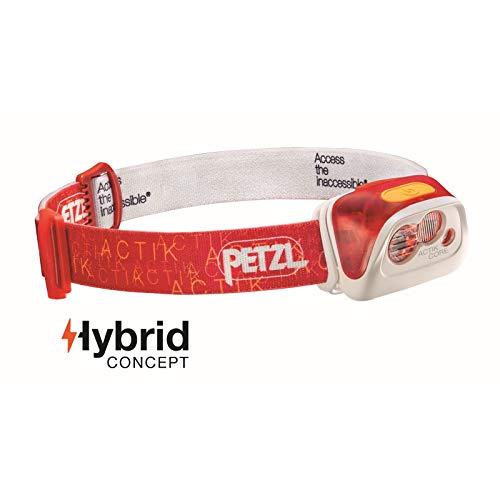 Petzl Actik Core Lampe Frontale Mixte Adulte, Rouge, Taille Unique