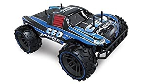 Amewi 22282 Vehículo Smasher - Blue M1: 8 Monster Tuck, 2,4 GHz, RTR