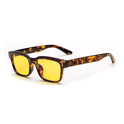 Cyxus Blaulichtfilter Computer Brille zur Blockierung von UV-Kopfschmerz [Anti Augen Belastung], Unisex (Herren/Damen) (Schildkröte Rahmen)