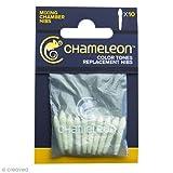 Pointes de rechange pour chambre de mélange marqueurs Chameleon - 10 feutres