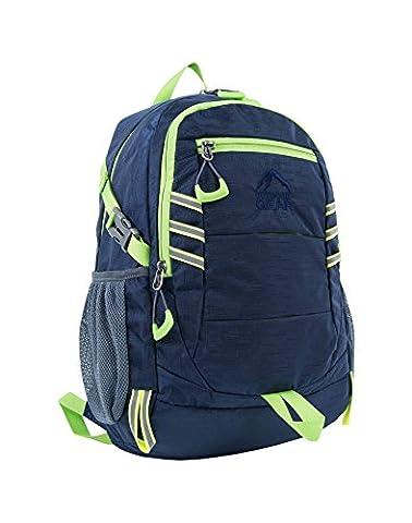 Outdoor Gear 1212 Sac à dos imperméable Bleu marine et sac à dos - 20 l