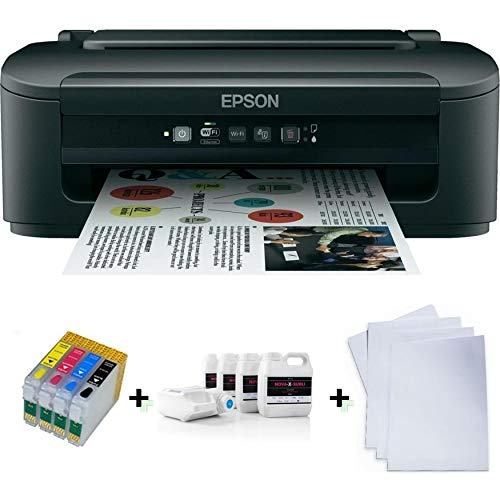 Sublimationsdrucker inkl Sublimationtinte Tinte + Papier...