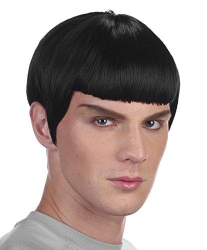 Perücke Spock (Offizier Weltraum Space Wissenschaftler)