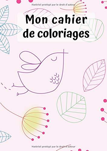 Mon Cahier de Coloriages: Nature No. 1 | 30 Pages | Blanc | Idée Cadeau par  Petit Livre de Coloriage