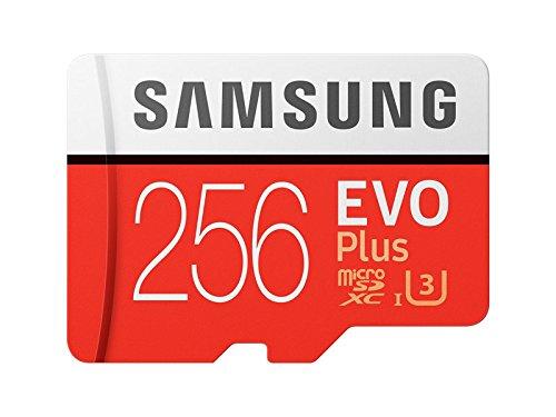 Samsung 256GB EVO PLUS Class 10UHS-I microSDXC U3mit Adapter (mb-mc256ga/APC)