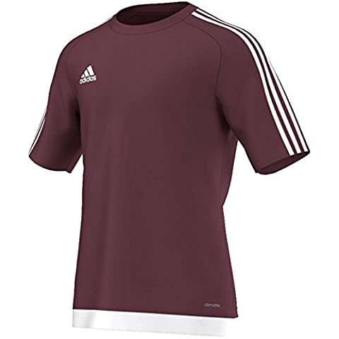 Adidas Men's Football Jersey Estro 15, Men, Trikot/Teamtrikot ESTRO 15 JSY, Maroon/White